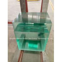 Quality Clear Float Glass with flat polish edge for sale