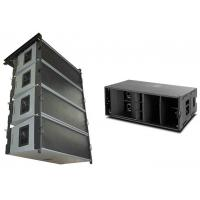 Wholesale 135db SPL 400w AES Flown Outdoor Pa System W8LC Superior Bass 90° Horizontal from china suppliers
