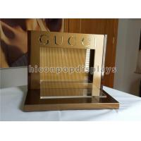 Wholesale Acrylic Metal Counter Display Racks Brand Name Optical Display Stand For Gucci Eyewear from china suppliers