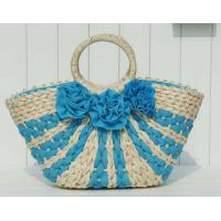 Wholesale women shoulder bag Women handbag  straw beach handbags from china suppliers