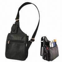 Wholesale Buxton Bags, Made of Soft Genuine Leather  from china suppliers