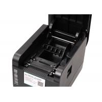 Wholesale 127mm / Sec Barcode Sticker Printer USB , Desktop Label Printer MAX 80mm from china suppliers