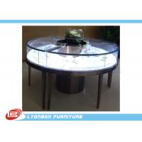 Wholesale Customized MDF Retail Round Display Table For Jewelry Showing , SGS ISO from china suppliers