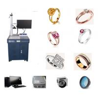 Wholesale Jewelry Cat Tag Fiber Laser Engraving Machine For Gold Silver Bracelet from china suppliers