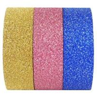 Wholesale The hottest glitter washy tape for gift wrapping and decoration from china suppliers