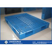 Wholesale Steel Tubes Plastic Skids Pallets Single Faced Recycled Plastic Pallets For Racking from china suppliers