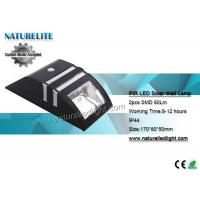 Wholesale PIR Solar Led Lights , Solar Led Flood Lights  SMD 60lm  4.5 Hours Fully Sunlight from china suppliers