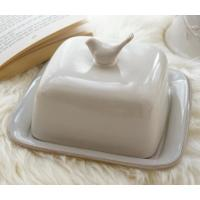 Buy cheap supply ceramic butter dish with cover made in china for export  with popular prices  on sale  and high quality from wholesalers