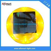 Wholesale CE IP68 ASD-011 Plastic Solar Road Stud/LED Cat Eyes Traffic Cone Light from china suppliers