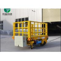 Wholesale Cable drum power steerable transfer trolley running on concrete floor from china suppliers