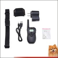 Wholesale 300M Stop Dog Barking Collar LCD Mode Display Remote Control Pet Trainer Kit from china suppliers