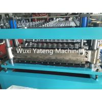 Wholesale Galvanized Steel Door Frame Roll Forming Machine , High Durability Sheet Metal Forming Equipment from china suppliers