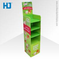 Wholesale Customized Advertising Cardboard Pallet Display , 4 Tiers Floor Display Stand from china suppliers