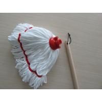 Wholesale Indoor White Microfiber Mop 200g with Excellent Liquid Absorbency from china suppliers