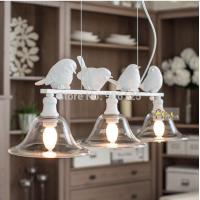 Wholesale 3-Light Modern Chandelier Light Fixture Nordic Modern Bird Chandelier Light Fixture Guaranteed 100%+Free shipping! from china suppliers