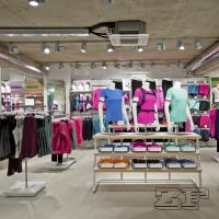 Wholesale Fashion Retail Sports Garment Shop Interior Design from china suppliers