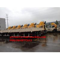 Wholesale HOWO Truck Mounted Crane 4 x 2 With Air Brake XCMG Crane SQ6.3SK2Q 6000KG from china suppliers