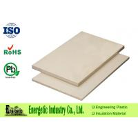 Wholesale Engineering PEEK Sheet / Board with 6mm to 50mm Thickness , 610 x 1220mm from china suppliers