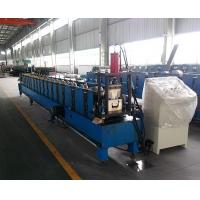 Wholesale Prepainted Steel Square Profile Gutter Roll Forming Machine Thickness 0.4-0.7 mm from china suppliers