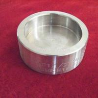 Wholesale ASTM A403 WP321H Sch80 ASME B16.9 Butt Welding Stainless Steel Pipe Cap from china suppliers