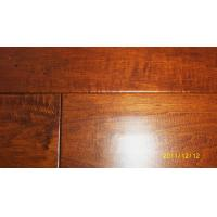 Quality American Hickory Engineered Flooring handscraped and Distressed Surface for sale