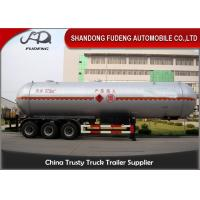 Wholesale 55 Cubic LPG Tank Trailer  Medium Pressure Round Shape Steel Tank Body from china suppliers