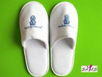 Wholesale Customized Microfiber 44 41 White Disposable Mens Hotel Bathroom Slippers from china suppliers