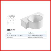 Quality bathroom ceramic washbasin cabinet design stone lavabo for sale for sale