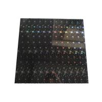 Quality ISO Black Shiny Rectangle PVC Ceiling Panels For Bathrooms 2.2Kg - 2.8Kg Per Sqm for sale