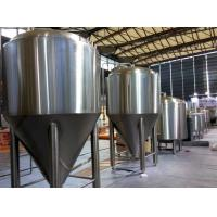 Wholesale Refrigerated Stainless Steel Conical Fermenter 1000L Large Brewing Equipment from china suppliers