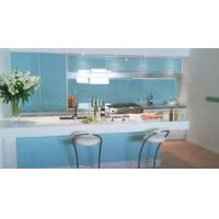 Quality Blue Painted glass / Lacquered Glass/ Lacobel Glass of 2mm,3mm,4mm,5mm,6mm for sale