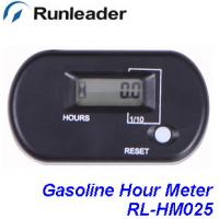 Wholesale Resettable waterproof LCD gasoline hour running Electric Motor Inductive Hour Meter RL-HM025 Green,Orange,Blue,Red,Black from china suppliers