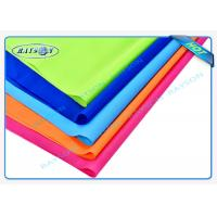 Wholesale Orange Blue Red Flame Retardant Nonwovens PP Spunbond Non Woven Fabric for Furnitures from china suppliers