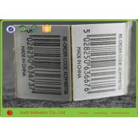 Wholesale Size Custom Printing Barcode Hang Tags , White - Black Art Paper Hang Tags from china suppliers