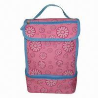 Wholesale Children's Cooler Bag with PEVA Lining, Made of 600D Polyester, Padded Foam, Keeps Warm and Cool  from china suppliers