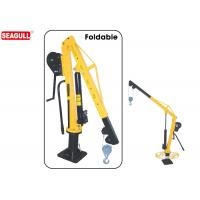 Wholesale HW1000 boom truck crane Manual Jib Crane Swivel 360 Degree capacity 500kg-1000kg from china suppliers