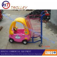 Wholesale Retail Plastic Shopping Trolley For Keeping Baby , Kid / Children Shopping Cart from china suppliers