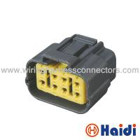 Buy cheap 8 Poles PBT Car Cable Connectors  Waterproof Wire Connectors Size OEM 6195-0051 from wholesalers