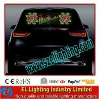 Buy cheap EL Flashing Window Car Sticker, Customized Car Stickers from wholesalers