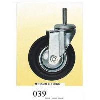 Wholesale Industrial Caster rubber caster screw 039 from china suppliers