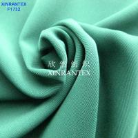 Wholesale F1732 100% polyester twill four ways spandex from china suppliers