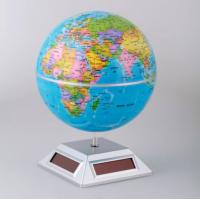 Wholesale ABS Solar Powered Gadgets Solar Powered Rotating World Globe from china suppliers