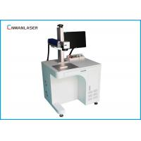Wholesale Air Cooling 20W 30W Fiber Laser Marking Machine For Mobile Phone Stainless Steel from china suppliers