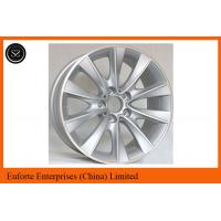 Wholesale Silver machined BMW replica wheel 17 inch bmw wheels SAEJ2530 VIA from china suppliers