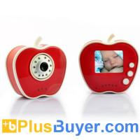 Wholesale Apple Shaped 2.4GHz Wireless Digital Baby Monitor + Camera (10 LEDs, Night Vision) from china suppliers