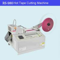 Wholesale Hot Knife Automatic Webbing Belt Ribbon Tape Cutting Machine from china suppliers