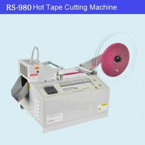 Wholesale Hot Knife Automatic Webbing Belt Ribbon Tape Cutting Machine from china suppliers