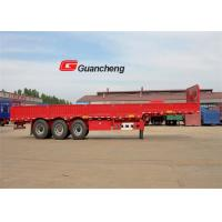 Wholesale ISO Cargo Semi Trailer sidewall 2 axle 60t side wall semi trailer from china suppliers