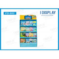 Wholesale Supermarket Pop Corrugated Cardboard Displays , Cardboard Book Display Stand from china suppliers