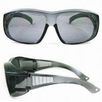 Wholesale Safety Glasses with PC Frame in Various Colors, Meets EN166 Standard from china suppliers